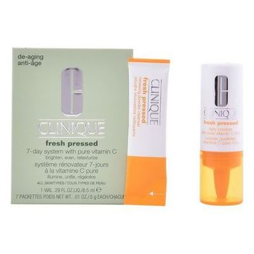 Cosmeticaset voor Dames Fresh Pressed Clinique (2 pcs)