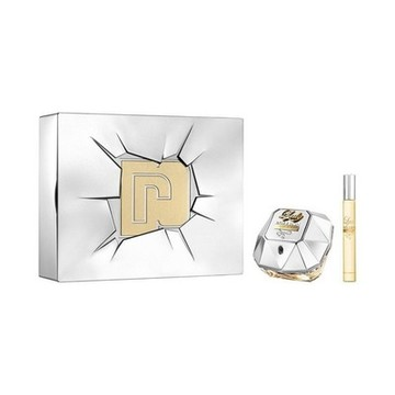 Parfumset voor Dames Lady Million Lucky Paco Rabanne (2 pcs)