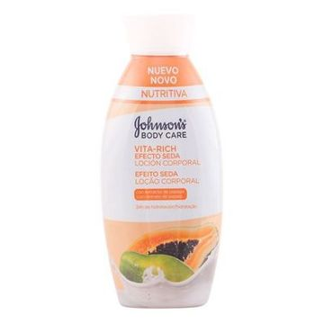 Bodylotion Droge Huid Papaya Vita-rich Johnson's 11012