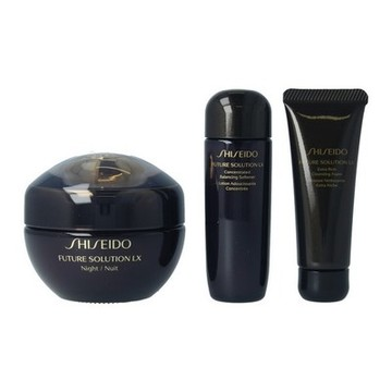 Cosmeticaset voor Dames Future Solution Lx Night Shiseido (3 uds)