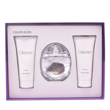 Parfumset voor Dames Obsessed For Women Calvin Klein (3 pcs)