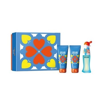 Parfumset voor Dames Cheap And Chic I Love Love Moschino (3 pcs)