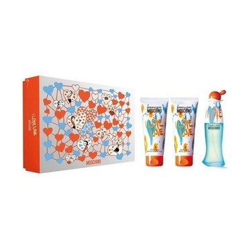 Parfumset voor Dames Cheap And Chic Love Love Moschino (3 pcs)