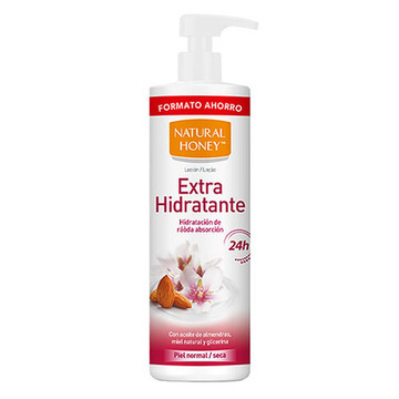 Body Lotion Aceite Almendras Dulces Natural Honey (700 ml)