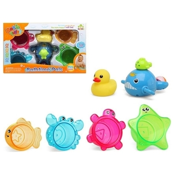 Set of Bath Toys +12M 111724 (6 pcs)