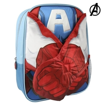 3D-Kinderrugzak Captain American The Avengers 78421