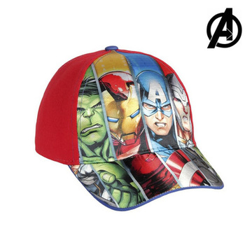 Kinderpet The Avengers 7448 (54 cm) Rood