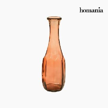 Vase made from recycled glass (13 x 13 x 40 cm) - Pure Crystal Deco Collectie by Homania