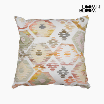 Kussen Beige (45 x 45 cm) - Jungle Collectie by Loom In Bloom
