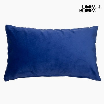 Kussen Polyester Blauw (30 x 50 x 10 cm) by Loom In Bloom