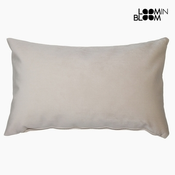 Kussen Polyester Beige (30 x 50 x 10 cm) by Loom In Bloom