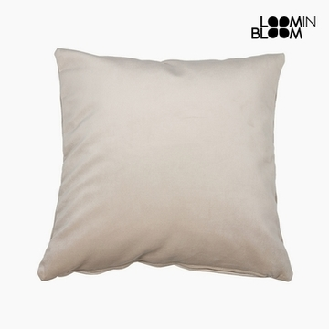 Kussen Polyester Beige (45 x 45 x 10 cm) by Loom In Bloom