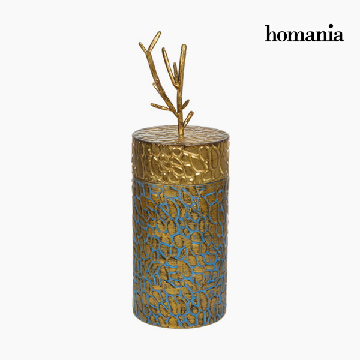 Box with cover Metaal Gouden by Homania