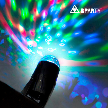 B Party Veelkleurige Ledprojector