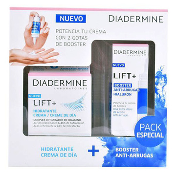 Cosmeticaset voor Dames Lift + Hyaluron Diadermine (2 pcs)