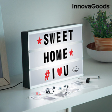InnovaGoods Cinema Led-Notitiebord