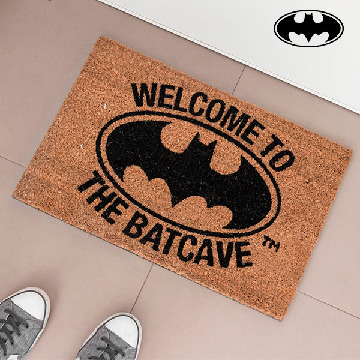 Welcome To The Batcave Deurmat