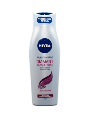 Nivea Diamond Gloss shampoo 250 ml.